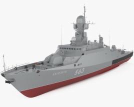 Buyan-M-class corvette 3D model