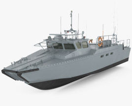 3D model of CB90-class fast assault craft