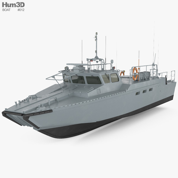 CB90-class fast assault craft 3D model