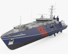 3D model of Cape-class patrol boat