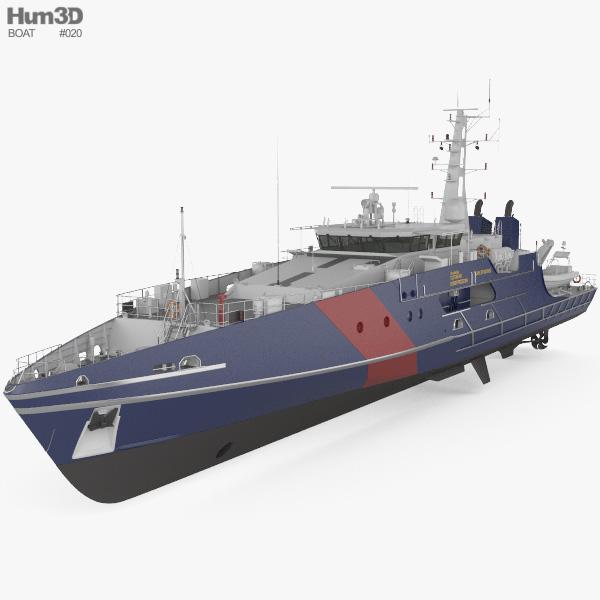 Cape-class Pattugliatore Modello 3D