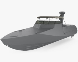 3D model of Combatant Craft Assault (CCA)