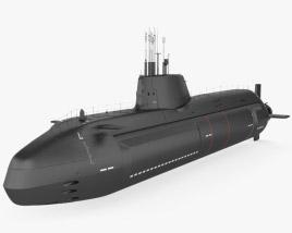 3D model of HMS Astute