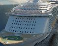 Harmony of the Seas cruise ship 3d model