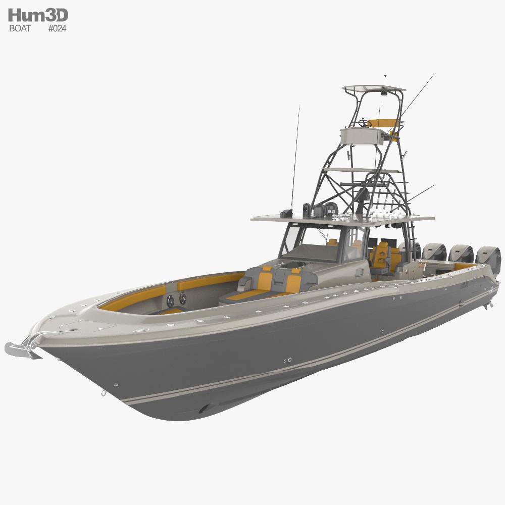 Hydra Sport 53 3D model