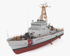 3D model of Island-class patrol boat