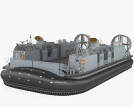 3D model of Landing Craft Air Cushion