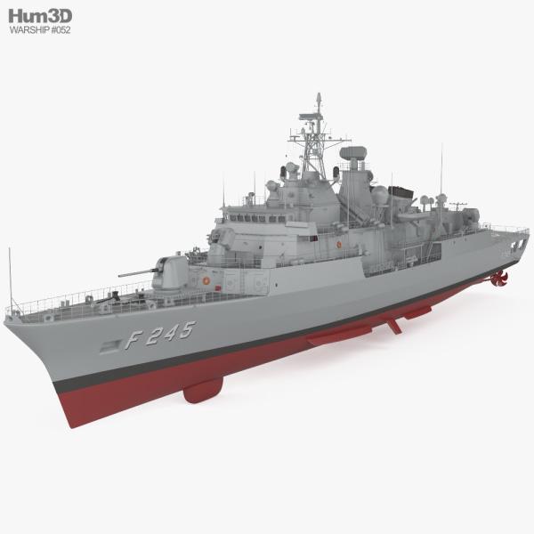 MEKO 200TN frigate 3D model