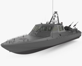 3D model of Mark V Special Operations Craft
