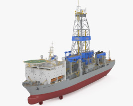 3D model of Noble Drillship