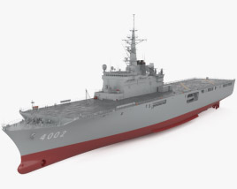 3D model of Osumi-class tank landing ship