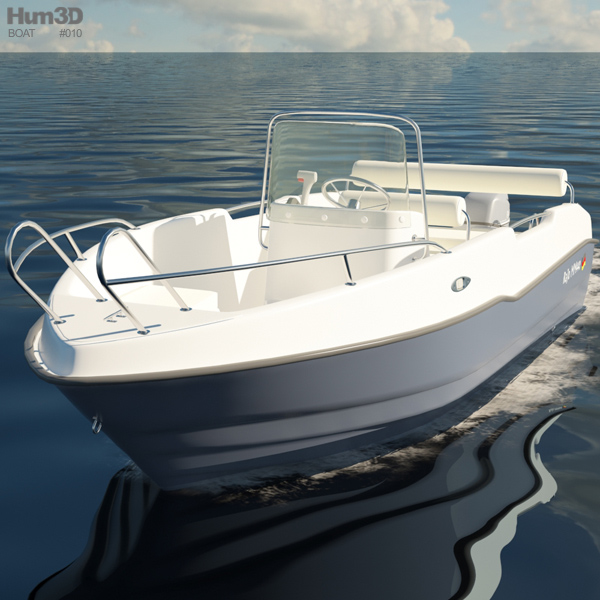 Rajo MM440 Boat 2016 3D model