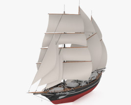 3D model of Spirit of New Zealand