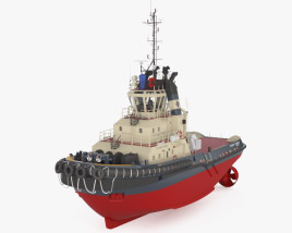 3D model of Tugboat Svitzer Stanford