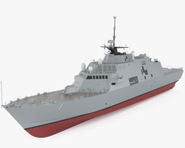 3D model of USS Freedom (LCS-1)