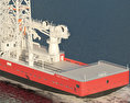 Well intervention Vessel SKANDI CONSTRUCTOR 3d model