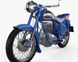 3D model of Simson AWO 425 Sport 1961
