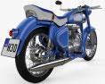 Simson AWO 425 Sport 1961 3d model
