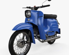 3D model of Simson KR51 Schwalbe 1967