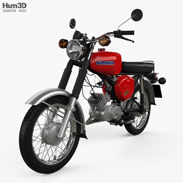 3D model of Simson S50 1975