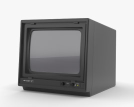 3D model of Sinclair QL Vision Monitor