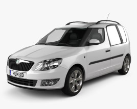 3D model of Skoda Praktik 2011