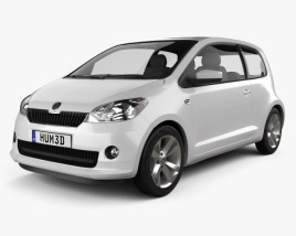 3D model of Skoda Citigo 2013
