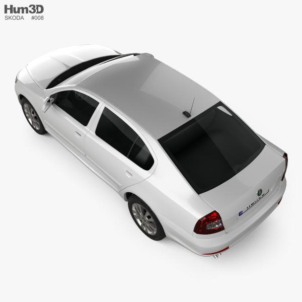 Skoda Octavia (Laura) sedan 2009 3D model