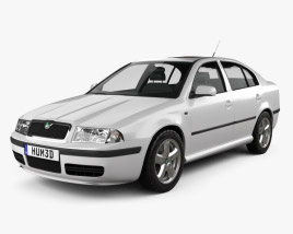 3D model of Skoda Octavia Tour 2000