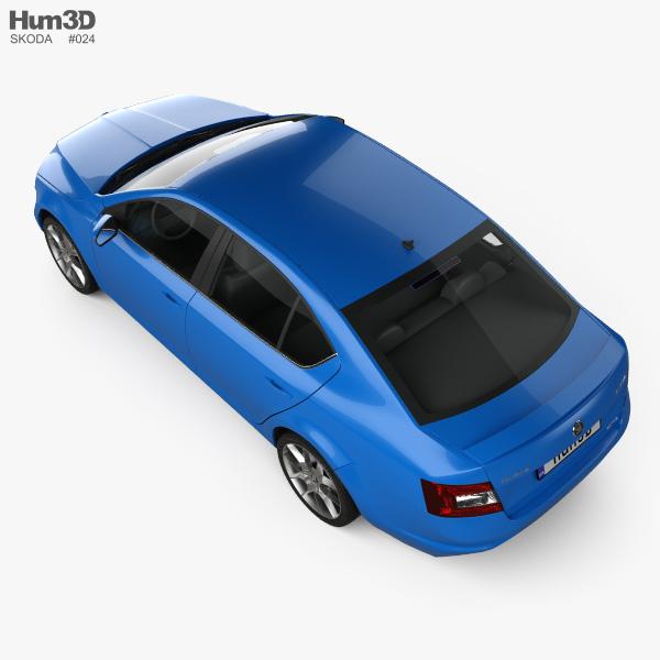 Skoda Octavia RS 2013 3D model