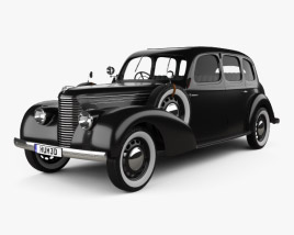 3D model of Skoda Superb OHV 1938