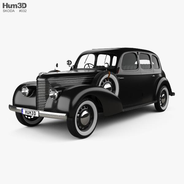 Skoda Superb OHV 1938 3D model
