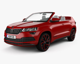 3D model of Skoda Sunroq 2018