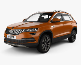 3D model of Skoda Karoq CN-spec 2021