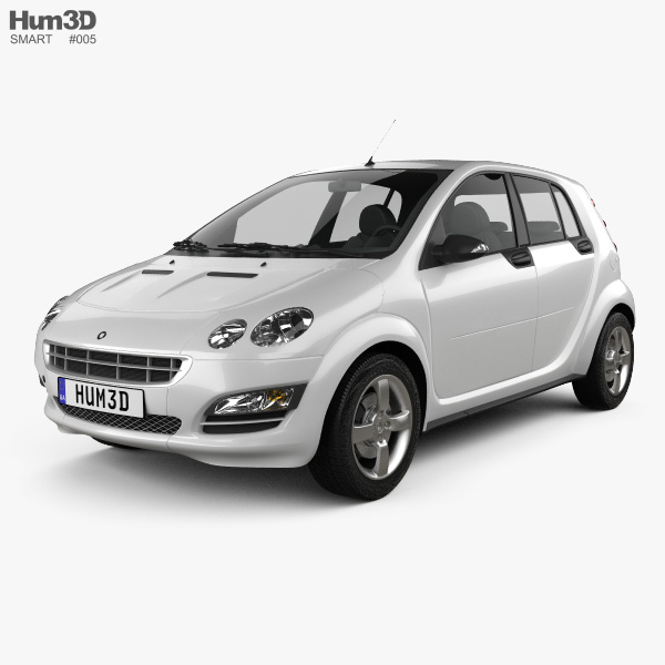 Smart Forfour 2006 3Dモデル