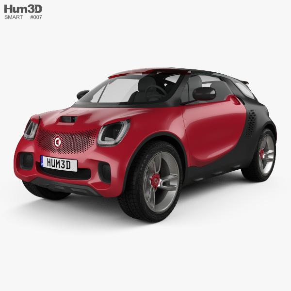 Smart Forstars 2012 3Dモデル