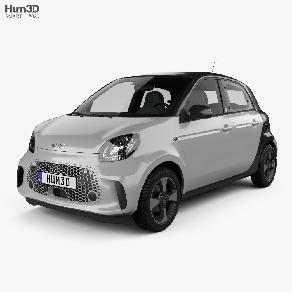 3D model of Smart ForFour EQ Passion 2020