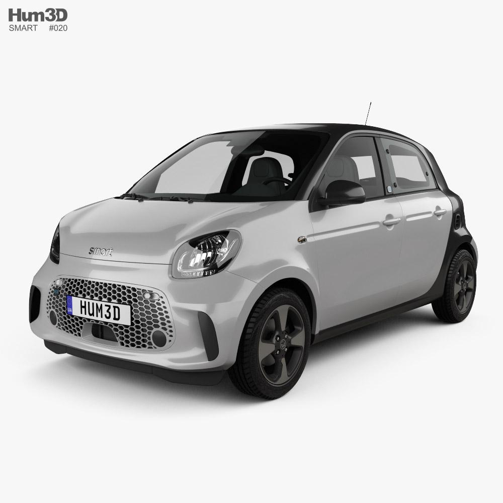 Smart ForFour EQ Passion 2020 3Dモデル