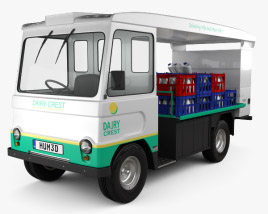 Smith Cabac Milk Float Truck 1972 3D model