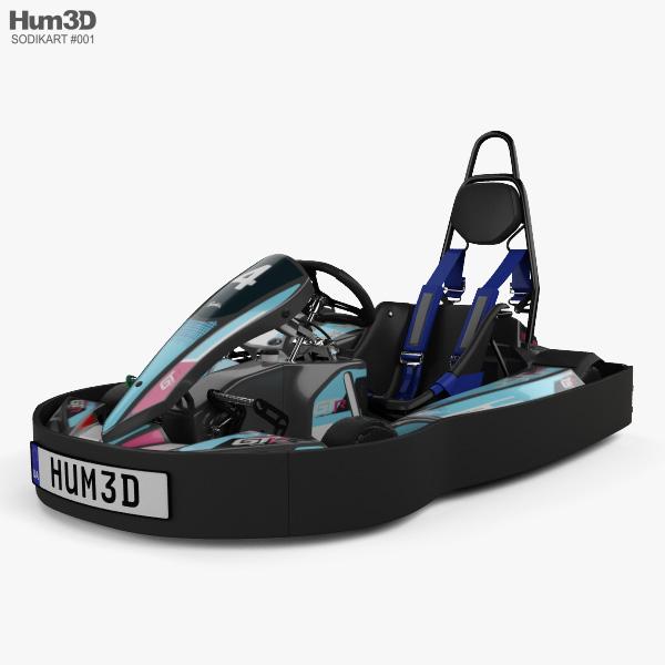 Sodikart GTR 2019 3D model