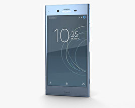 3D model of Sony Xperia XZ1 Moonlit Blue