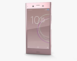 3D model of Sony Xperia XZ1 Venus Pink