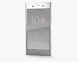 3D model of Sony Xperia XZ1 Warm Silver