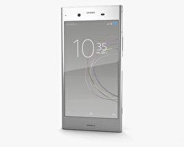 Sony Xperia XZ1 Warm Silver 3D model