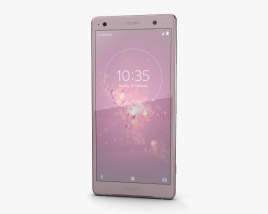 3D model of Sony Xperia XZ2 Ash Pink