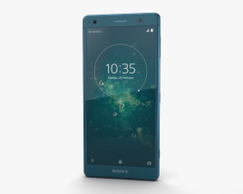 3D model of Sony Xperia XZ2 Deep Green