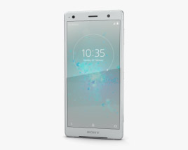 3D model of Sony Xperia XZ2 Liquid Silver