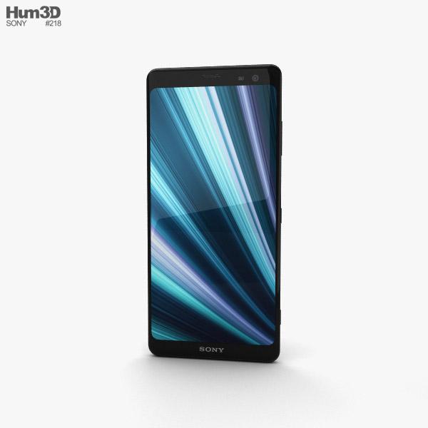 Sony Xperia XZ3 Black 3D model