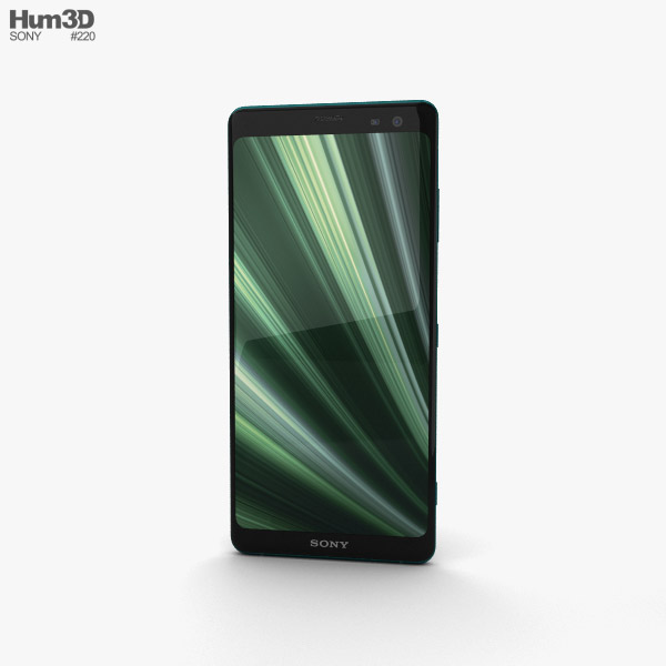 Sony Xperia XZ3 Forest Green 3D model