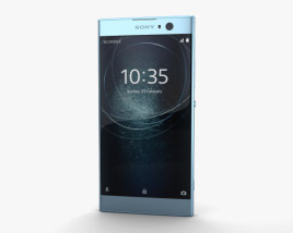 3D model of Sony Xperia XA2 Blue